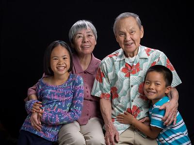 Grandparents came for a visit end of summer 2015