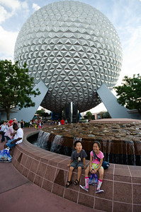 Nolan loved the Spaceship Earth ride (in the big ball); we did it three times!