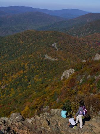 View from Stony Man summit
